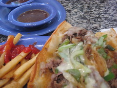 Roast Beef Sub @ Beaches and Cream, Beach Club