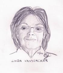 Portrait Linda Vanysacker (Sketchmanni) Tags: party portrait pencil ink sketch julia drawing emma kay sketchbook doodle manuel bild tinte scribble bleistift grote moleskin zeichnung manni jkpp moeskinerie