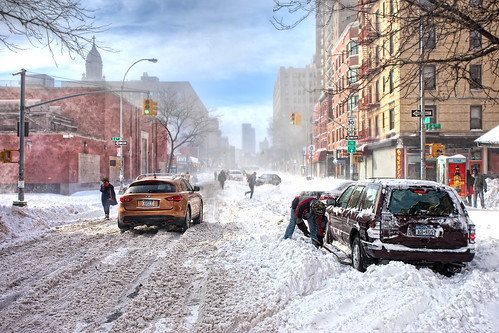 'Snow Day!', United States, New York, New York City, Snow Day by WanderingtheWorld (www.LostManProject.com)