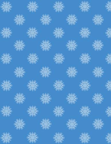 Snowflakepattern14