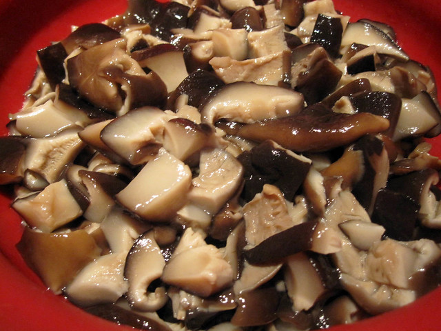 ... probably try a different type of mushroom next time for more flavor