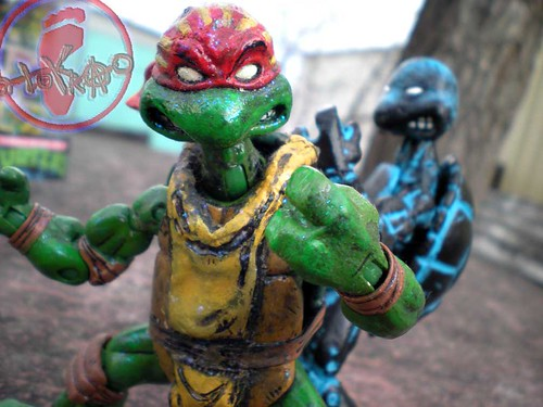 "WRESTLING RAPHAEL v. ""Rising Sun"" Donatello  ii"