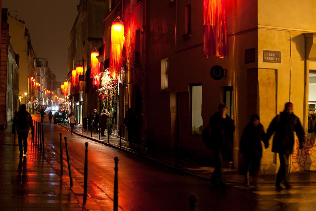 Rue Vieille du Temple (玛莱区)