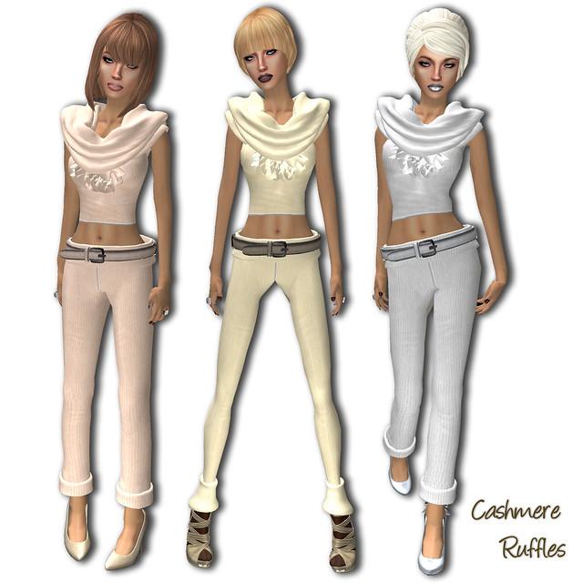Bang Bang - Cashmere Ruffles
