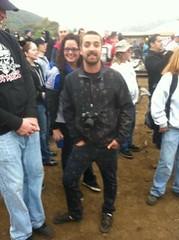 Garrett vs. the mud pit
