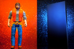 Chuck Norris vs. The Monolith (364/365) (JD Hancock) Tags: favorite orange fun toy actionfigure action cc figure duel monolith chucknorris 1k 2001aspaceodyssey day364 inkitchen jdhancock duel365