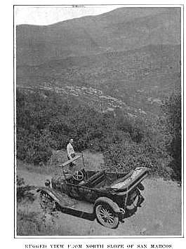 San Marcos Pass 1917