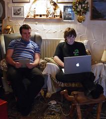 Brecon & Zak (Brett Jordan) Tags: brettjordan waterpitts zakjordan waterpittsfarm breconjordan christmas2010 30december2010
