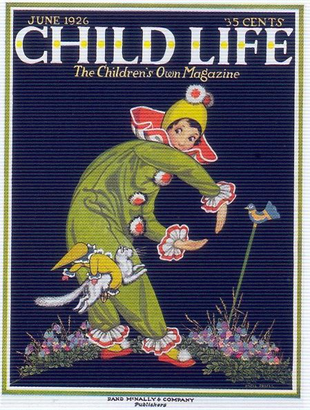 Child Life, June 1926 - cover