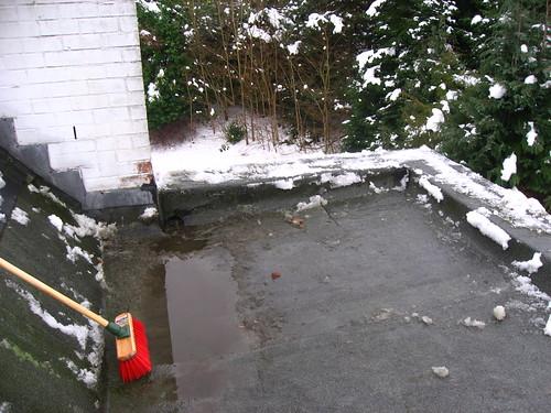 Le dégât des eaux: le toit