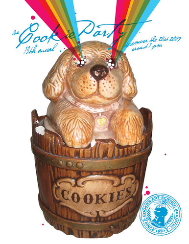 2009 Cookie Party Invite