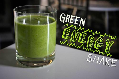 GREEN ENERGY SHAKE!!!