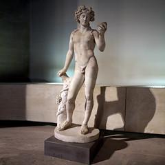 Bacchus (R. O. Flinn) Tags: sculpture paris france art museum youth nude god roman louvre bacchus marble