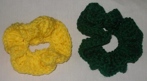 rainbow scrunchies (5)
