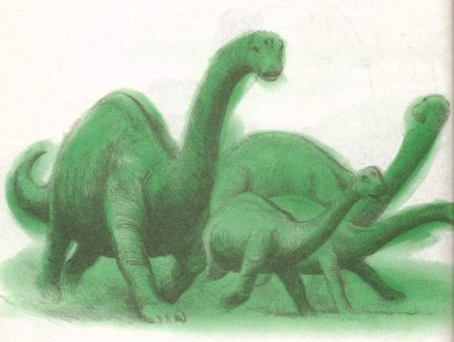 Apatosaurus Herd