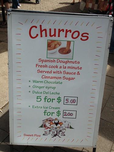 Churros@Eumundi market