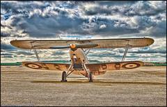 Flying Legends 2010 - Hawker Nimrod (Si 558) Tags: museum flying war force air royal airshow legends duxford imperial raf hawker biplane 2010 topaz nimrod adjust iwm topazadjust
