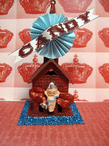 Valentine Kewpie House Kit! 7