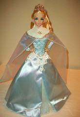 Winter  Frost (napudollworld) Tags: winter sleeping holiday beauty wearing fashion french frost king alice entrance barbie grand disney kong quarter carter gown bryant 2009 royalty mattel