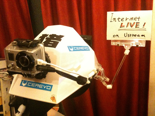 CES会場からのヘッドマウントカメラ・ライブ配信機材