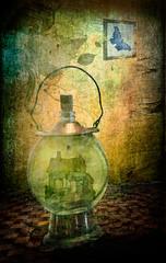 In the light of the house (yolandalcarrillo) Tags: light house texture textura luz photoshop casa photoshopcreativo truthandillusion