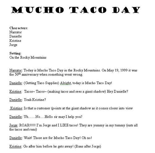 Mucho Taco Day