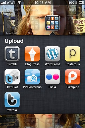 Upload Apps for iPhoneography