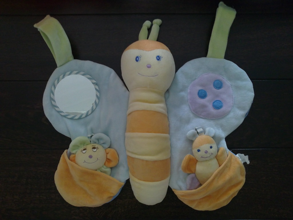 Butterfly Crib Toy