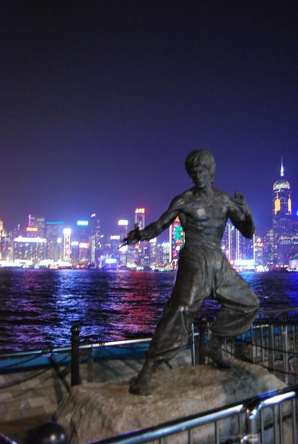 Bruce Lee en la Avenue of Stars