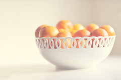 {7/365} O my darling clementine... (Three Peanuts) Tags: white bowl 365 clementines