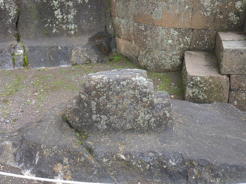 Incan Cross At Pisaq