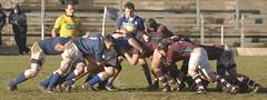 Scrum (FM Foto) Tags: ireland st nikon rugby union d2x marys scrum rfc