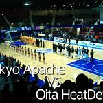 bjリーグ 東京アパッチの2011年ホーム初戦(vs大分)を観戦