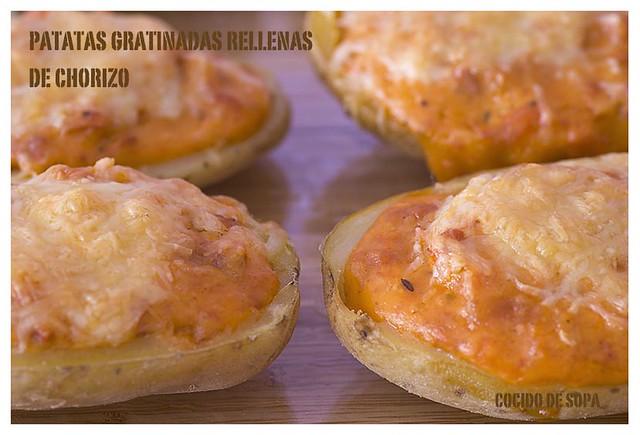 Patatas gratinadas rellenas de chorizo_4