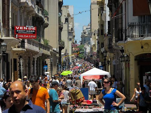San Telmo Market - Buenos Aires, Argentina