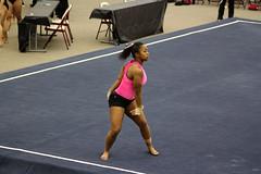 TWU Gymnastics Floor - Rashonda Cannie (Erin Costa) Tags: dance jump university texas floor exercise tx womens gymnast gymnastics leap tumble denton twu routine womans cannie usag rashonda