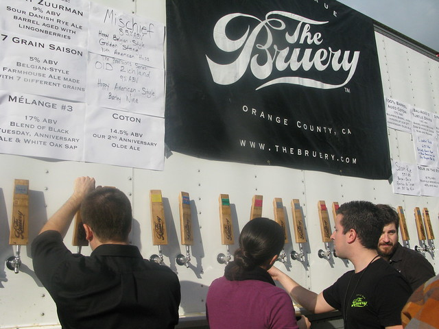 The Bruery beer truck by Caroline on Crack