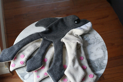 Sharktopus Plush - Skin Suit