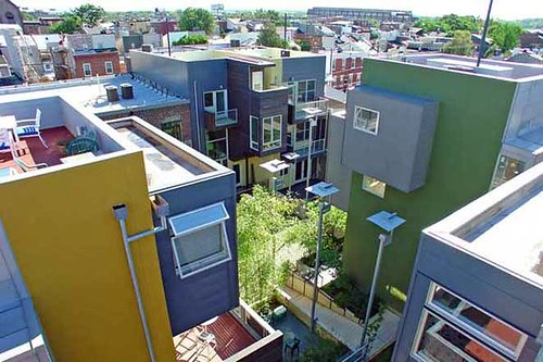 Rag Flats, Philadelphia (by: housebrand, Minus Studios, & Cover, via Slow Home Studio)
