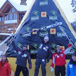 Ford Swette wins Gold on day one at Lake Louise GMC Cup Giant Slalom