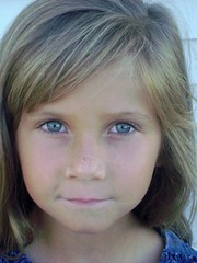 KAYLAROSE (mysunshinekaylarose) Tags: girl child blueeyes