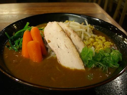 Curry Ramen @ Benke Ramen
