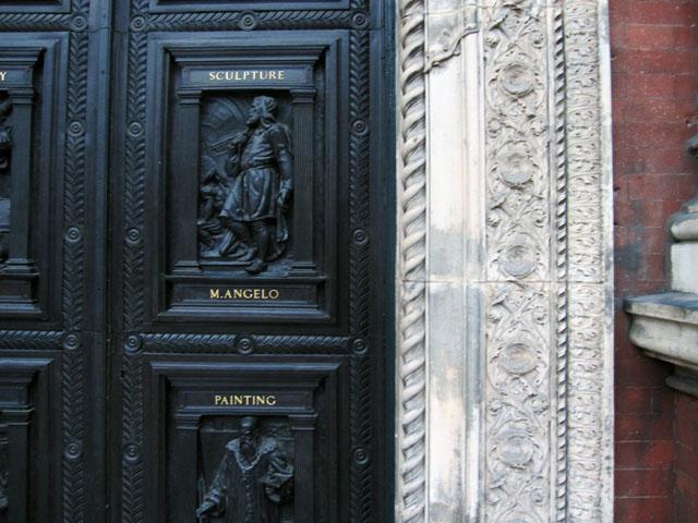 v and a exterior