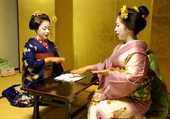 Konpira funefune() : traditional Japanese game (September_Okayama) Tags: autumn portrait woman girl beauty japan japanese kyoto pentax traditional maiko geiko geisha  kimono  tamron kanzashi    k10d 28250    homerwashere