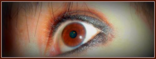 It's just my eye