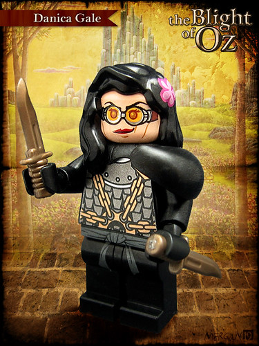 Custom minifig The Blight of Oz - Danica Gale