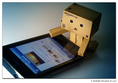 Addicted to Facebook! (mediman30) Tags: toy toys sony danbo a700 revoltech sonya700 danboard