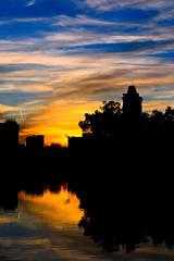 翠湖晚霞 Greenlake Sunset (Fotokon KiKi) Tags: blue sunset cloud lake water gold landscapes sketch sunny greenlake lee kiki kunming yunnan 风景 日落 tranquil 云 水 剪影 湖 云南 晚霞 全景 昆明 蓝色 粉红色 倒影 金色 火烧云 翠湖 宁静 kikiking