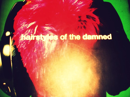 hairstyles of the damned. Hairstyles of The Damned