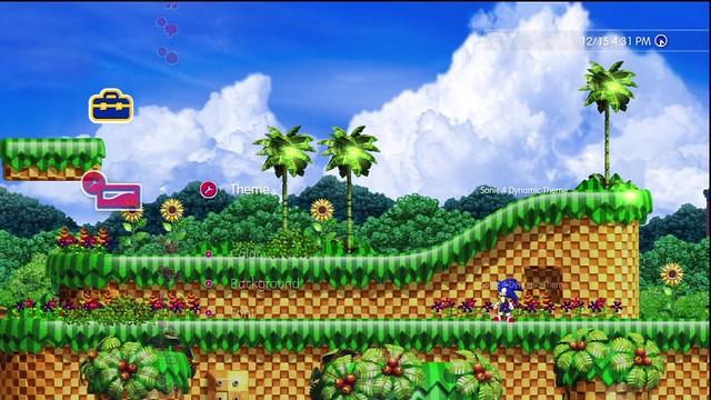 Sonic 4 PS3 Dynamic theme coming next week! - Green Hills